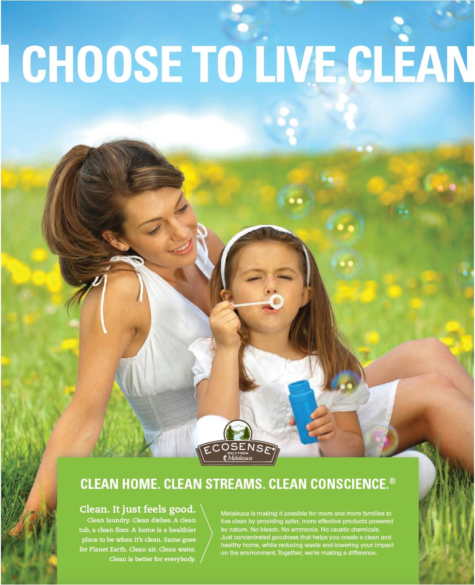 Celebrate Earth Day Every Day With Ecosense By Melaleuca