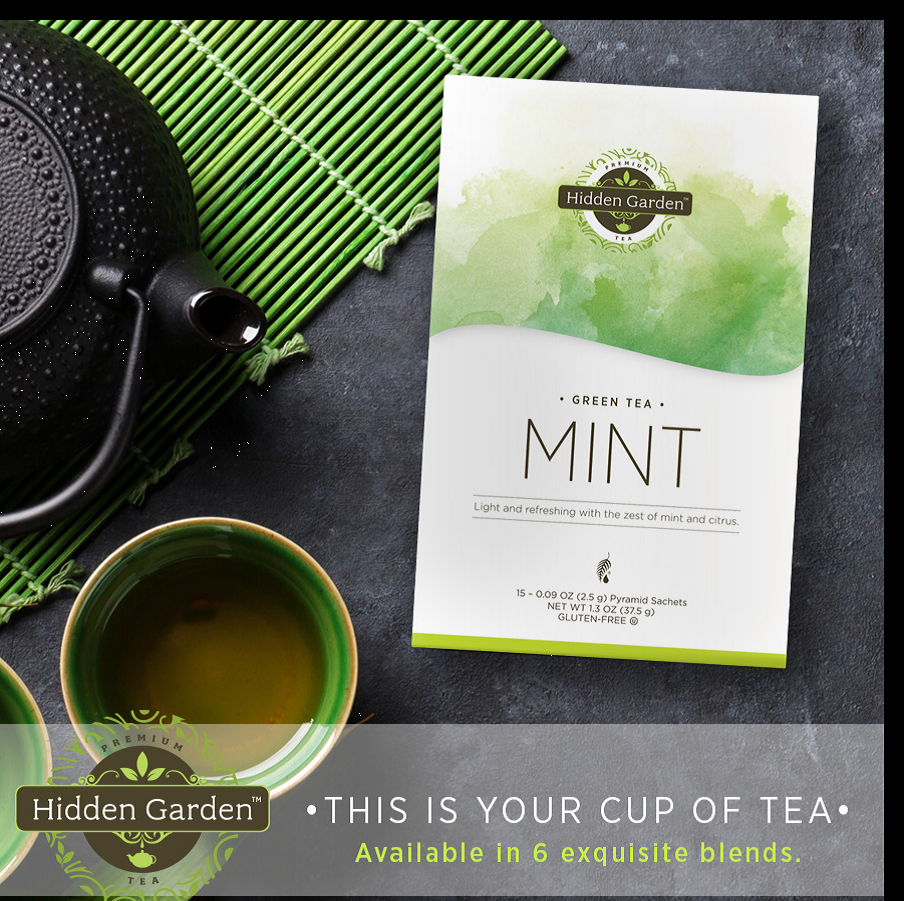 Hidden Garden Premium Tea