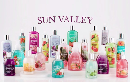 Welcome to the brilliant colors and bold fragrances of all-new Sun Valley®