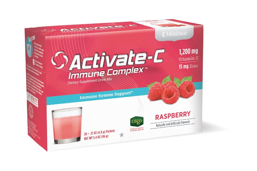 Melaleuca Activate-C Immune Complex now available in Raspberry flavor